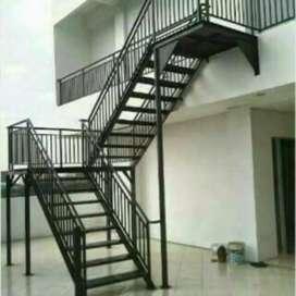 tangga rebah mnimalis 'jgs'
