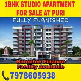 1BHK Fully Furnished Flat available in Jagannath Dham, Puri