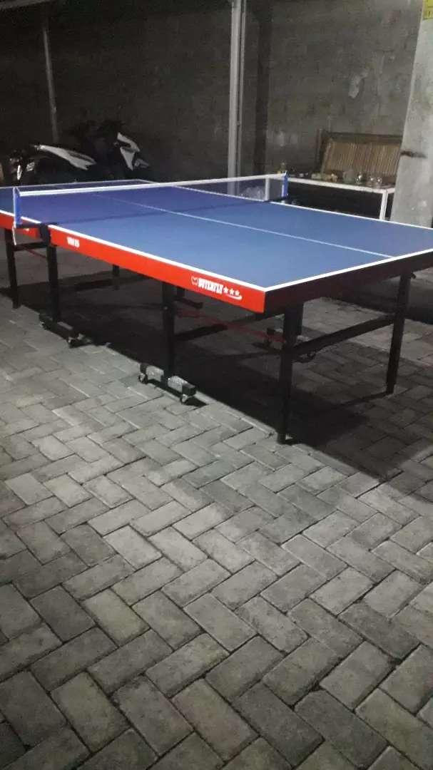 Jual meja pingpong baru 0