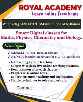 Need part time maths faculty for P.U college in Hegdenagar,Bangalore