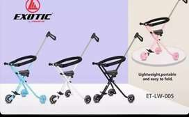 Stroller merk exotic ready 290rb . Roda menyala ketika jalan