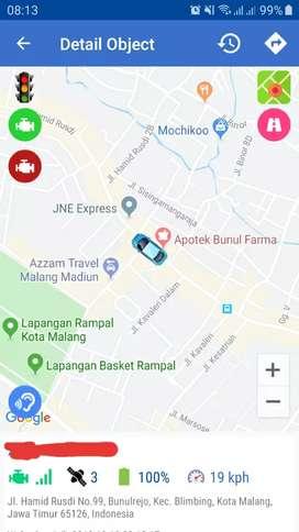 GPS Tracker Pemantau Posisi Kendaraan