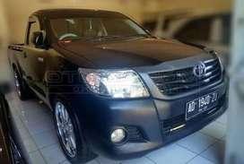 Dijual Toyota Hilux pickup 2.5 single cab disel