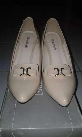 Sepatu high heels elizabeth cream uk 39