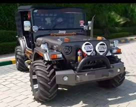 Modified best willy jeep