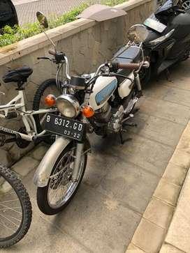 Honda GL modif CB dilan