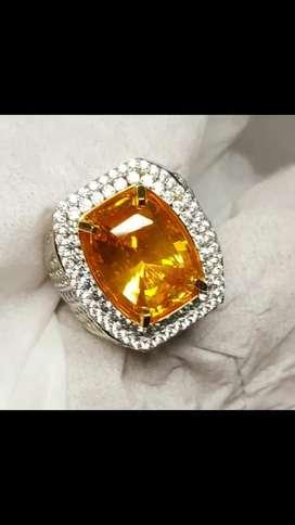 Natural  Vivid yellow sapphire srilanka 13crt up