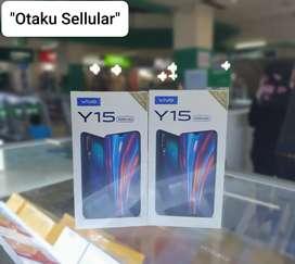 Vivo Y15 4/64 Resmi Cicilan 0% Free Temperglass Original