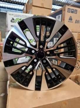Velg mobil racing murah ring 18x7.5 h5x114.3 et45 cocok untuk Inova