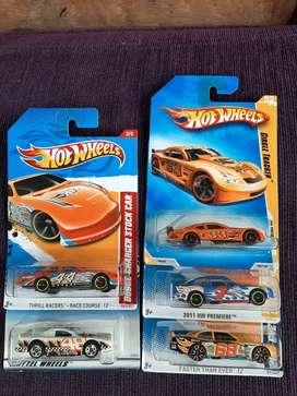 Hot Wheels NASCAR old stock 5 pcs