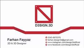 2d and 3d work