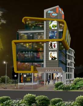 Fully functional 30000 Sqft shopping complex at Mannanthala