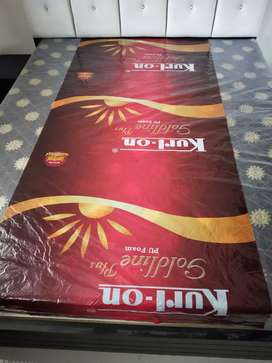 Kurlon foam mattress.5*6,RS,4500.