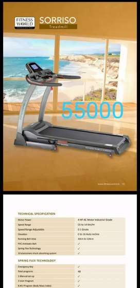 Gym treadmill  commercial  and domestic  at ludhiana shop