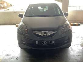 Honda Brio 1.2 E AT Automatic 2015 Silver Pelat D