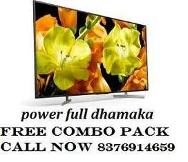 SEAL PACK 40'' SMART 4K LED TV 11999/- CALL NOW