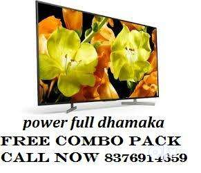 SEAL PACK 40'' SMART 4K LED TV 11999/- CALL NOW 0