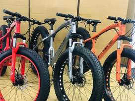Brand new bicycles with double shocker