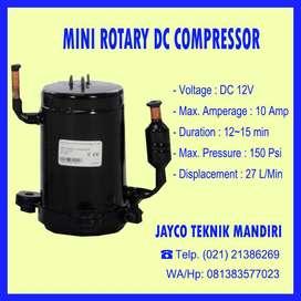 Mini Rotary DC Compressor