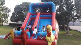 jumper and  jumping slide business and sell prchising