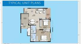 2 BHK Flat on 10th floor for SALE