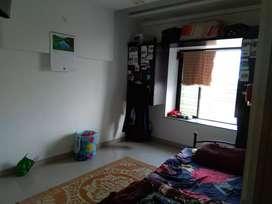 It's a 3 BHK flat with all amenities like washing machine fridge