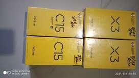 Realme c15 3/32gb and realme x3 8/128gb