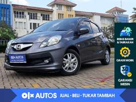 [OLX Autos] Honda Brio 1.2 E M/T 2016 Abu-Abu