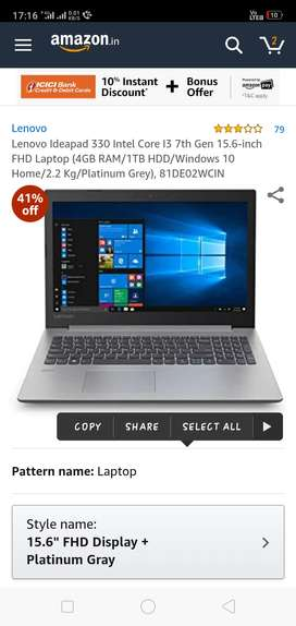 Laptop with gud condition