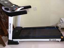Welcare treadmill for sale, hardly used