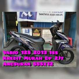 Vario 125cc 2013 Iss Ungu Langka Km50Rban