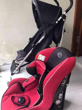 Car seat , merk Pliko