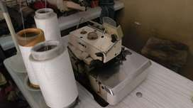Kaaj overlock and button machines for sale urgent