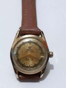 Jam tangan vintage wanita TITONI AIRMASTER ROTOMATC automatic original