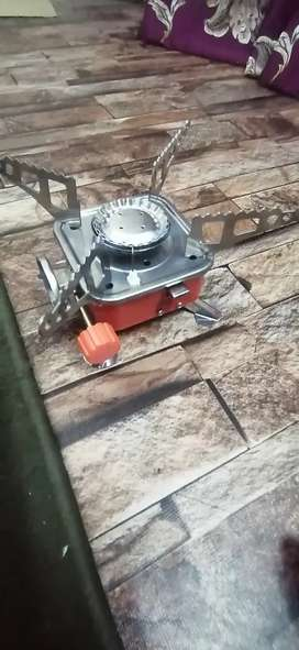 Portable Card type Stove mini with Gas Kit