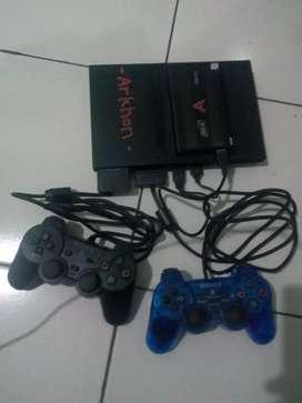 PS2 slim + hardisk 20Gb