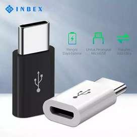 《BARU》 Converter INBEX dari Micro USB ke Type C Adapter