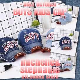 M&S MENSTUFFTOKO1973-76 - 2020 Children cap : BOY - topi anak2 topi