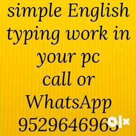 Home based online Part time job Form Filling work