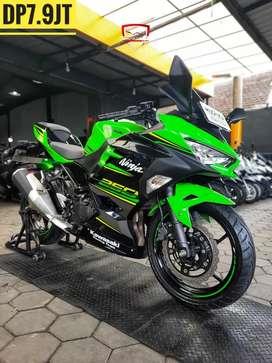 Kawasaki All New Ninja 250 -2018, KM 6Rb-Like New, Mustika Motoshop