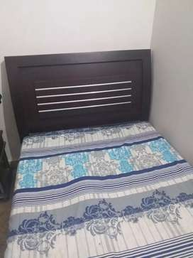 Urgent sale slightly used single bed