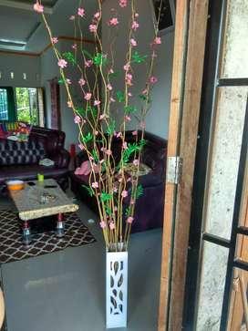 Bambu ulir bunga sakura