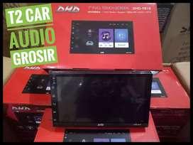 Tercanggih gan 2din android asli led 7inc merk DHD+camera hd grosir