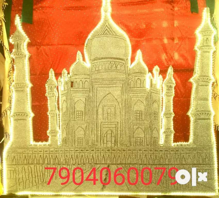 Taj mahal art for home decor