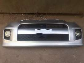 Passo 2007 front and rear bumper