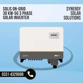30KW Solis OnGrid Inverter 3Phase 5G with Wifi Dongle