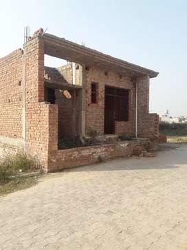 4 marla 2 bhk corner house inbhankarpur situated between Zkr derabassi