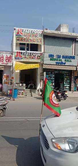 Shop for rent bhadson chungi opposite Ajmer hospital patiala