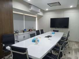 VIP SEMI FURNISHED OFFICE FOR RENT AT SHABAZ PHASE 6 WITH CHAMBER lift