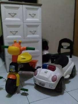 Jual sepeda dan mobil2an